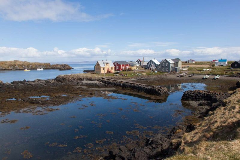 The island with 6 inhabitants - named the world's best! - Flatey island from husavik