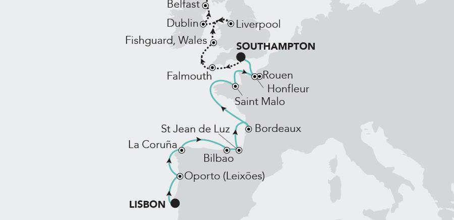 Lisbon a Southampton