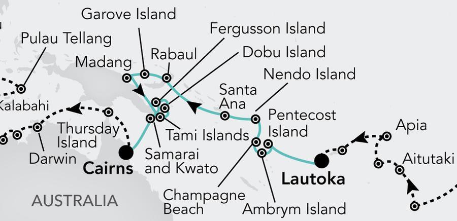 Lautoka nach Cairns