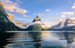 Cruising Milford Sound