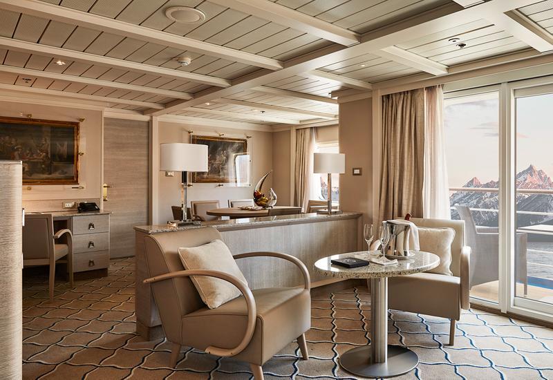 Luxuriöse Suiten