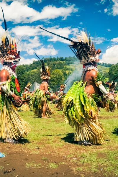Die Aromen Papua-Neuguineas