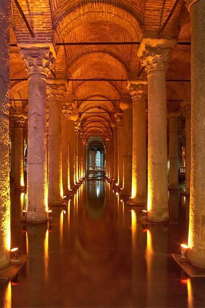The 1001 Column Cisterns