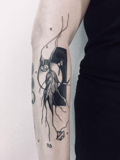 Creature Tattoo
