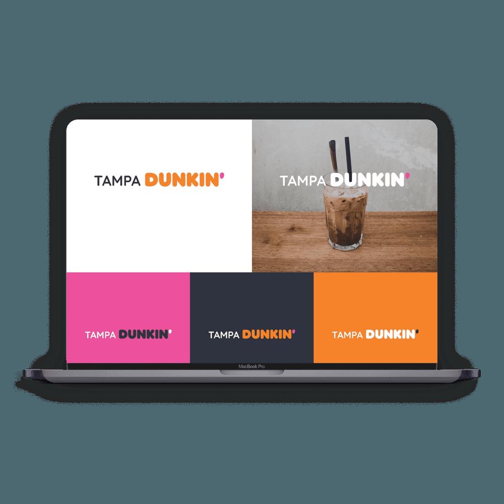 Tampa Dunkin Logos