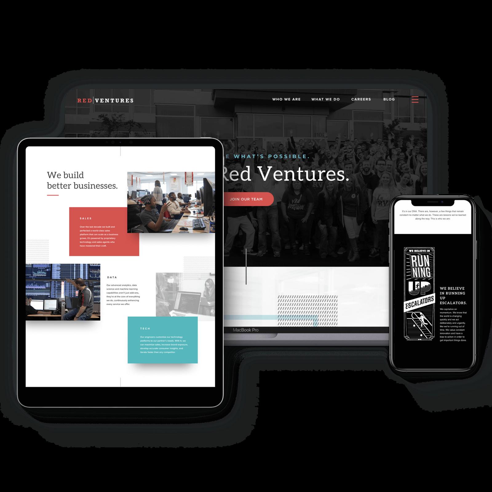 Red Ventures Website