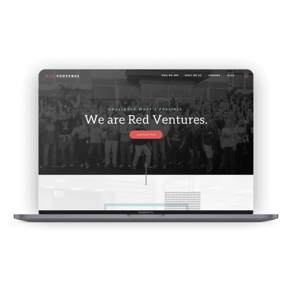 Red Ventures website