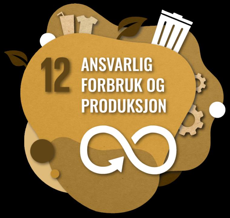 Bærekraftsmål nummer 2: Ansvarlig forbruk og produksjon