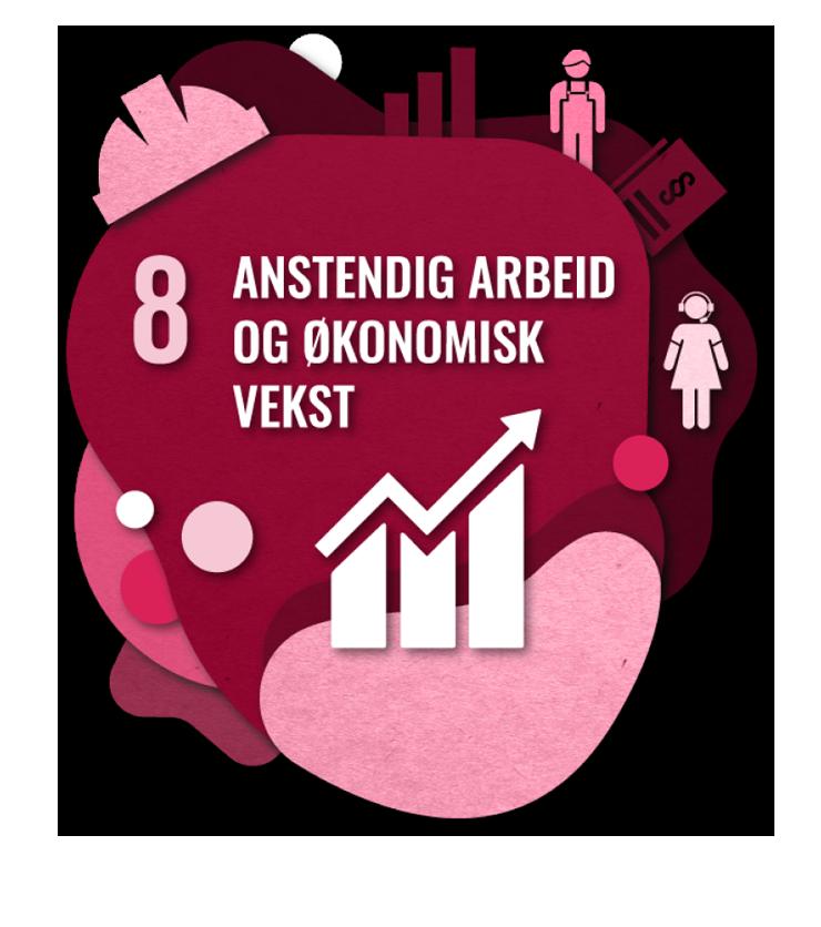 Bærekraftsmål nummer 2: Anstendig arbeid og økonomisk vekst
