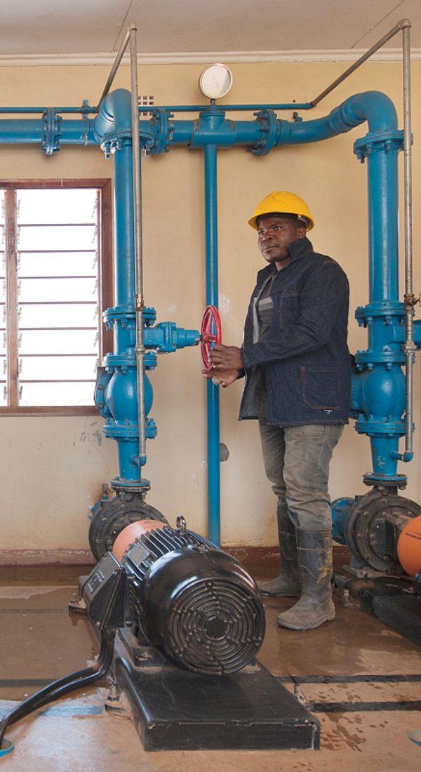 Rent vann og gode sanitærforhold