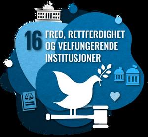 Fred, rettferdighet og velfungerende institusjoner