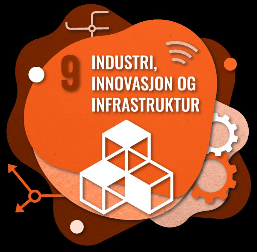 Bærekraftsmål nummer 2: Industri, innovasjon og infrastruktur