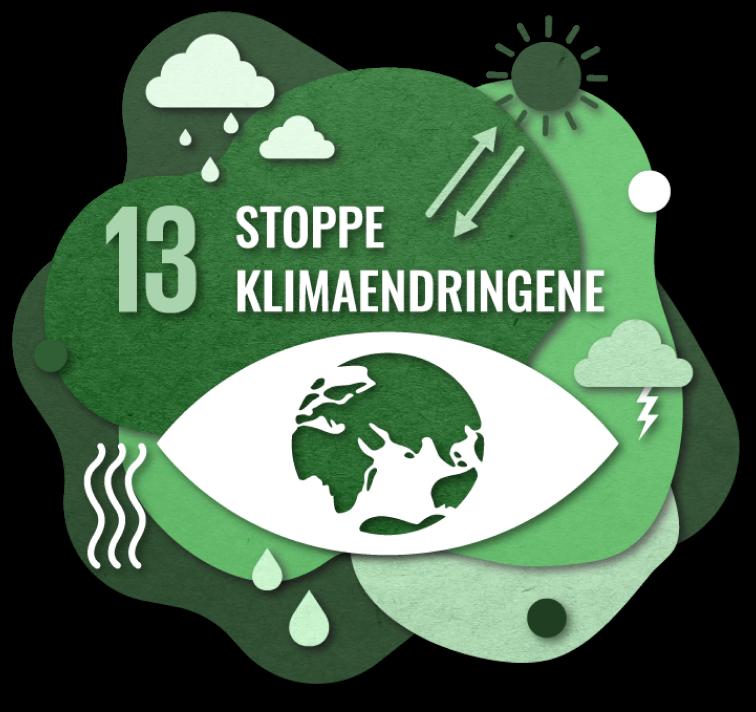Bærekraftsmål nummer 2: Stoppe klimaendringene