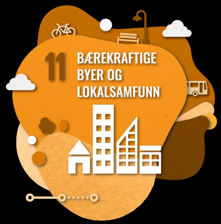 Bærekraftsmål nummer 2: Bærekraftige byer og lokalsamfunn