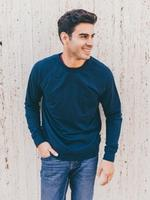 Navy Cali Sweatshirt