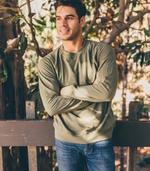 lightweight cali sweatshirt