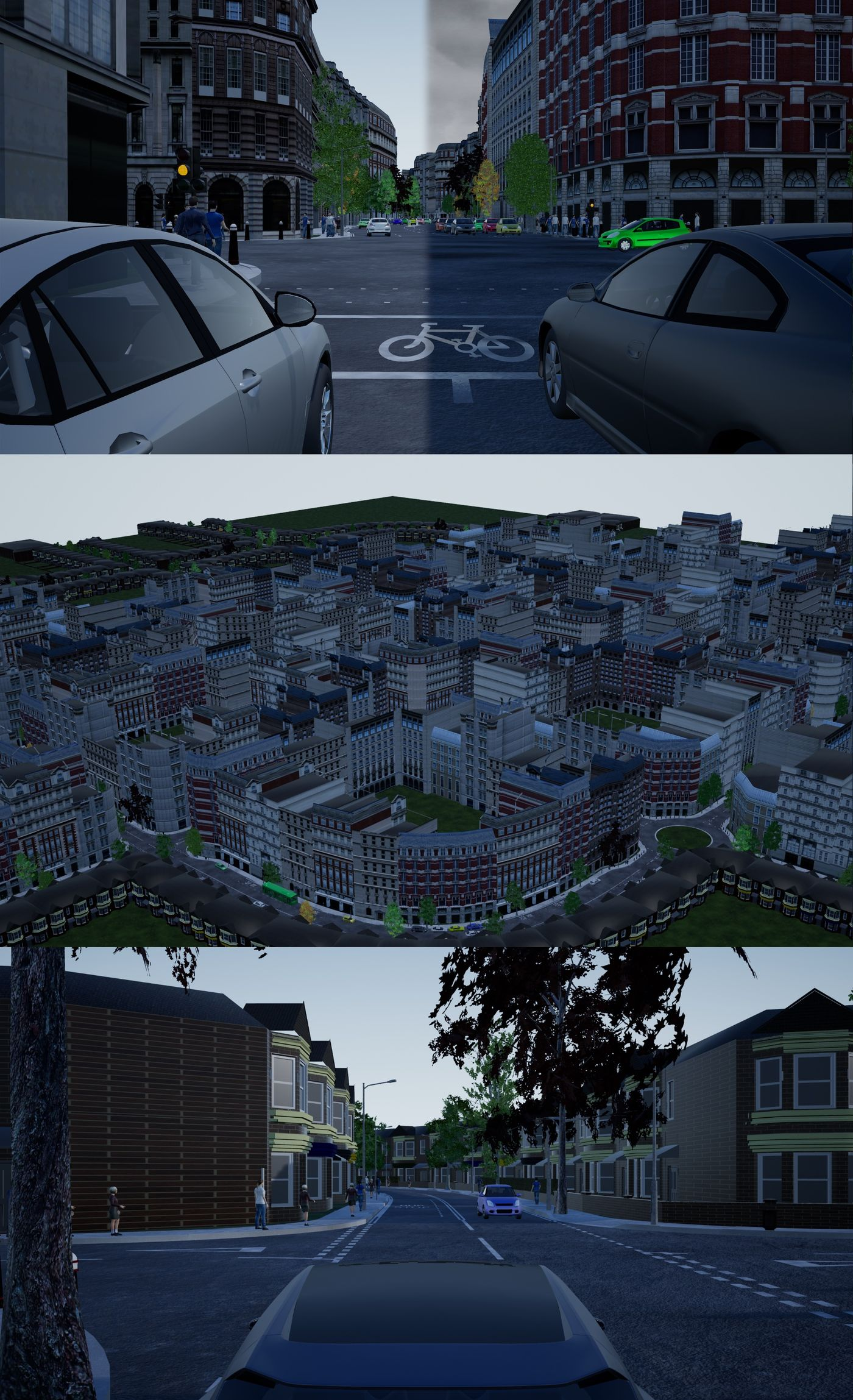 procedural urban simulation