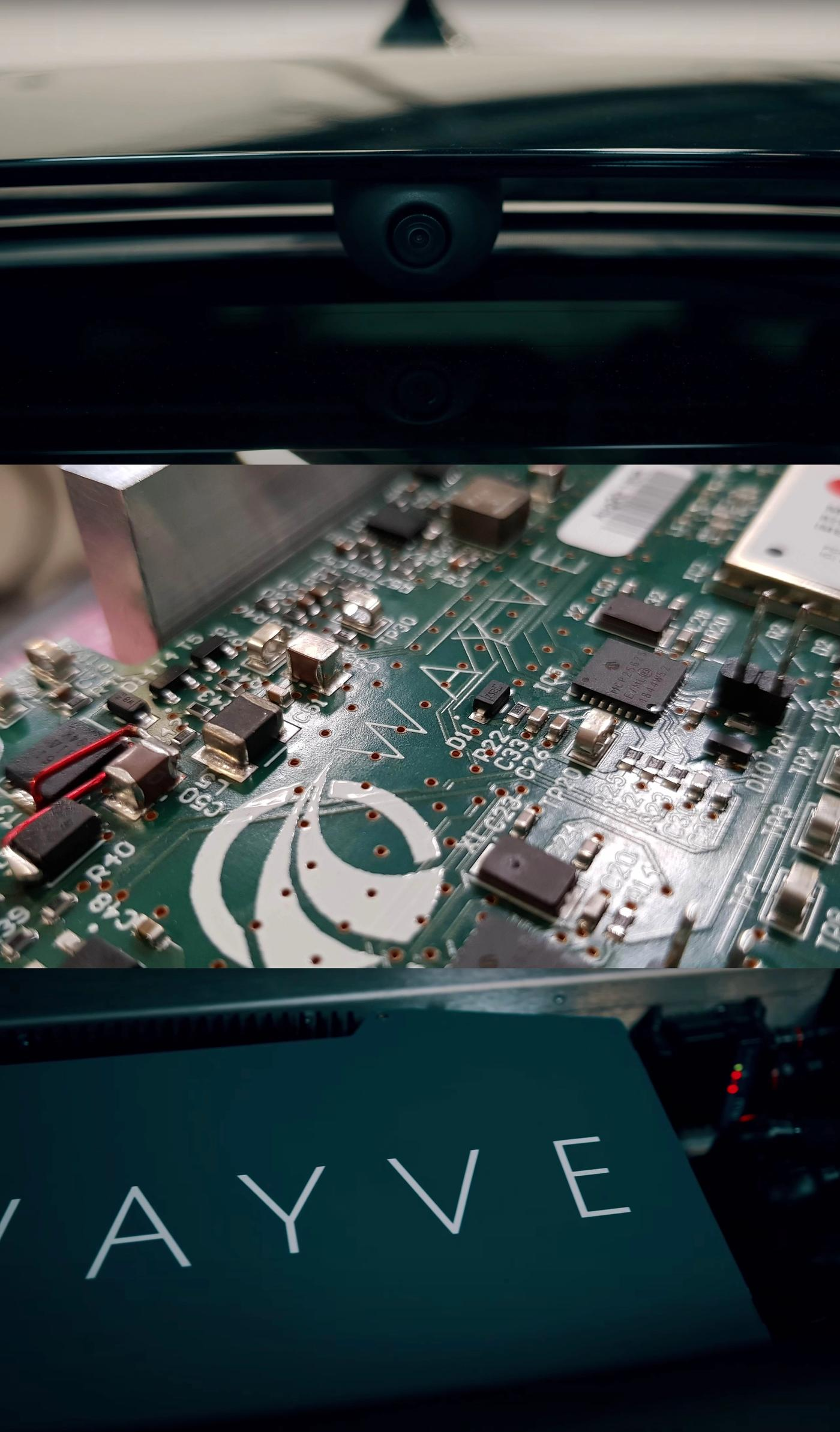 wayve autonomous driving hardware