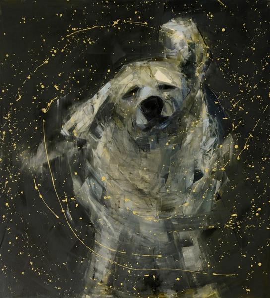 Shake (Black and Gold) No. 3