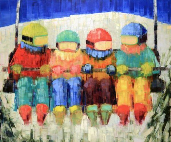 Rebecca Kinkead Paints Memories at Gallery MAR