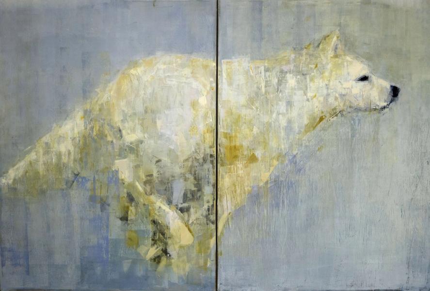 White Wolf (Running)