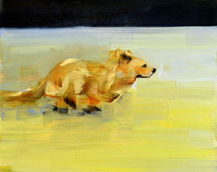 Golden Dog (Greener Grass) Study