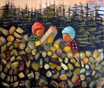 Wood Pile (Stack)