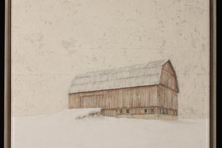 Winter Barn III