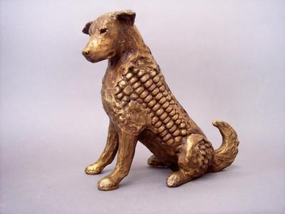 Seated Corn Dog