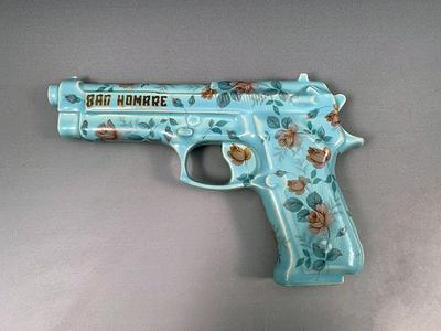 Bad Hombre, Blue Pistol