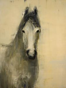 Grey Horse (on Cream)