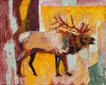 Elk with Yellow