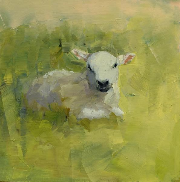 Lamb in Repose