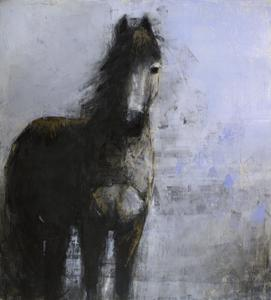Blue Horse (on Blue)