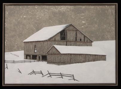 Winter Barn II