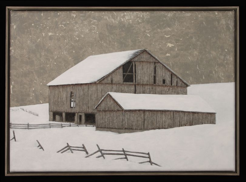 Winter Barn II