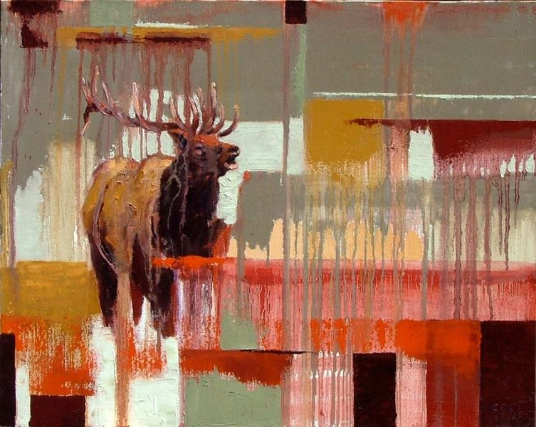 Bugling Elk