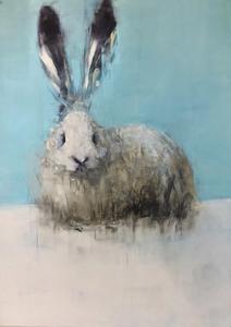Rabbit #3 (Turquoise)