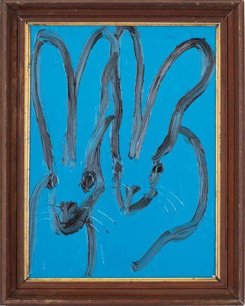 Untitled Blue Bunnies