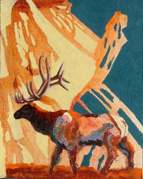 Elk at Earl's Flat