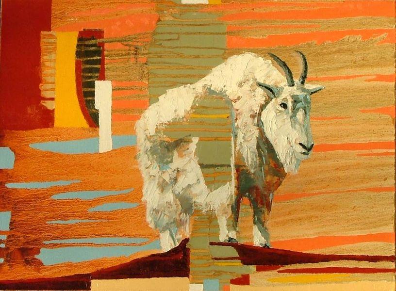 Goat in Green