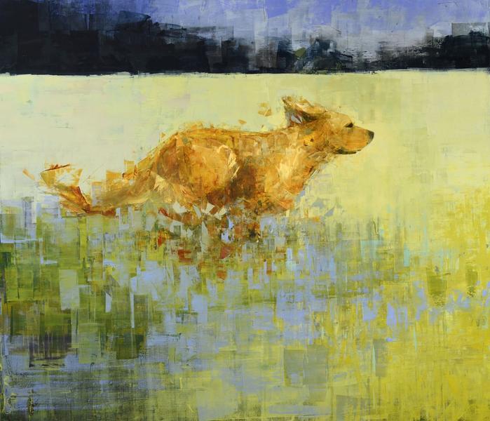 Golden Dog (Greener Grass)