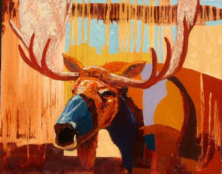Red Beard Moose