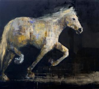 White Horse in Motion (2)