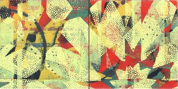 Tile Study, Yellow