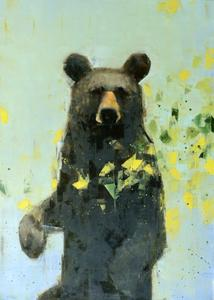 Black Bear Contemplating Spring
