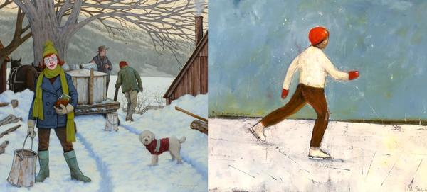 """Fred Calleri + Mary Scrimgeour – """"Winter Delights"""""""