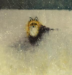 Red Fox, Deep Snow