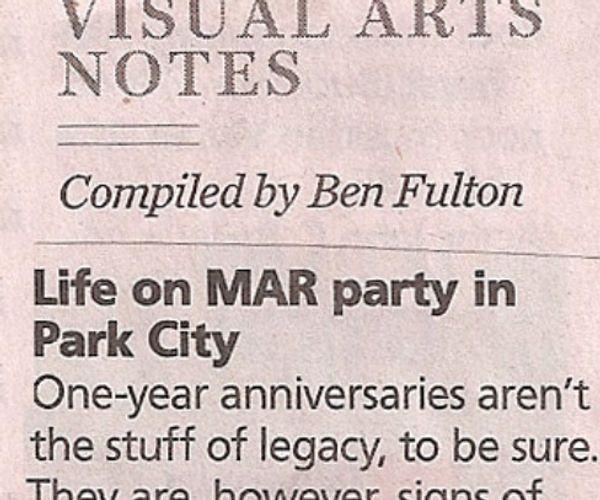 Visual Arts Notes: Life on MAR