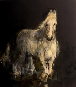 White Horse in Motion (1)